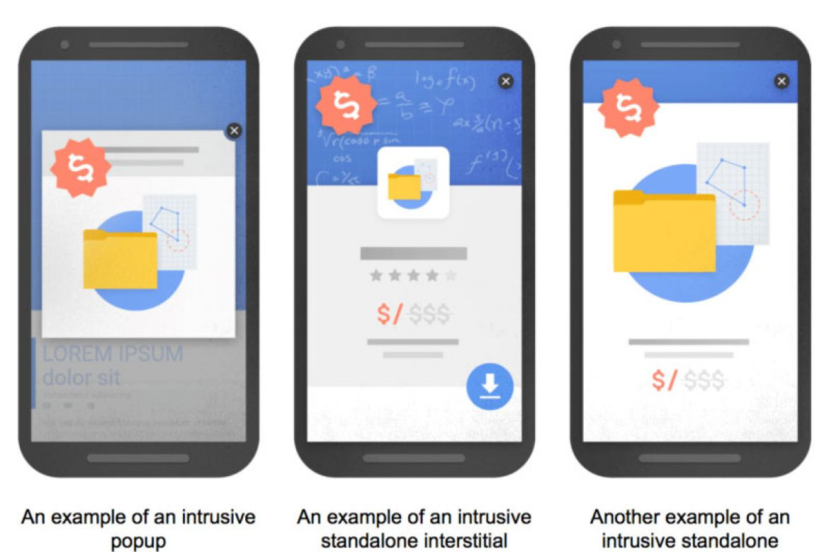 Watch Out: Google's Cracking Down on Popups and Welcome Mats
